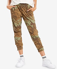 Women's Jet Set Tapered Zip-Hem Pants