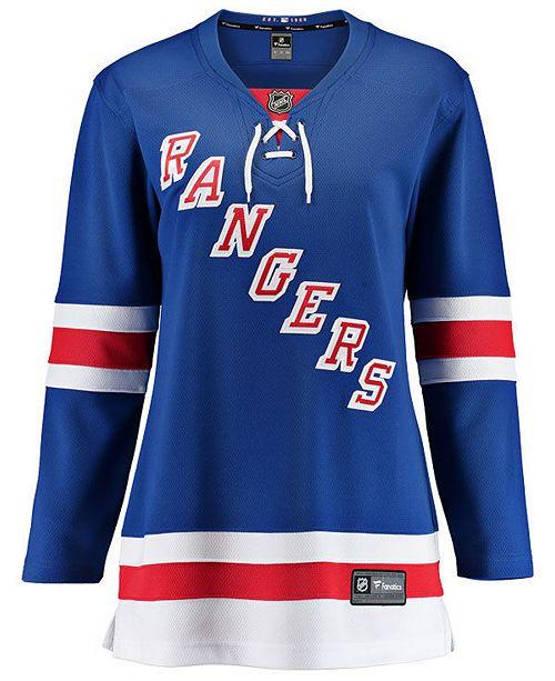 Fanatics Women's New York Rangers Breakaway Jersey