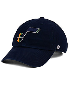 '47 Brand Boys' Utah Jazz CLEAN UP Cap