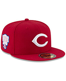 New Era Cincinnati Reds Ultimate Patch Collection World Series 2.0 59Fifty Fitted Cap