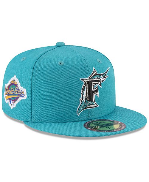 c824504949c ... New Era Florida Marlins Ultimate Patch Collection World Series 2.0  59Fifty Fitted Cap ...