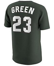 Men's Draymond Green Michigan State Spartans Basketball Future Stars Replica T-Shirt