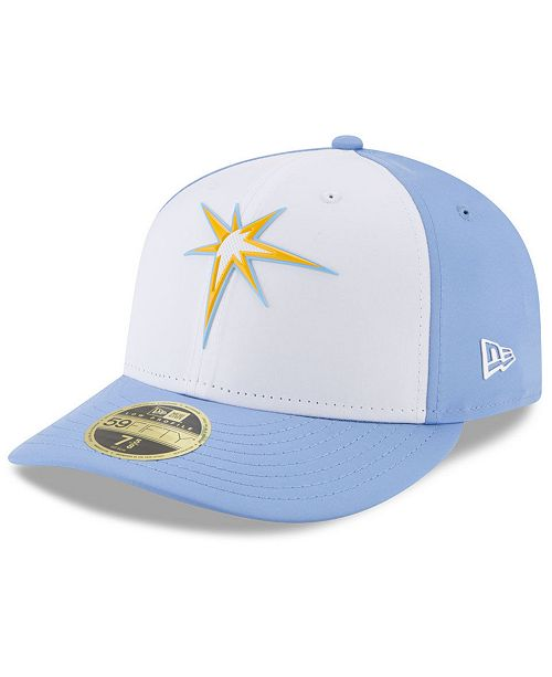a1754f486 New Era Tampa Bay Rays Low Profile Batting Practice Pro Lite 59FIFTY ...
