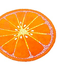 CLOSEOUT! Martha Stewart Collection Round Beach Towel