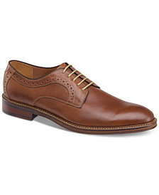 Johnston & Murphy Men's Warner Plain-Toe Lace-Up Oxfords