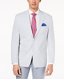 CLOSEOUT! Lauren Ralph Lauren Men's Classic-Fit Ultraflex Seersucker Sport Coat