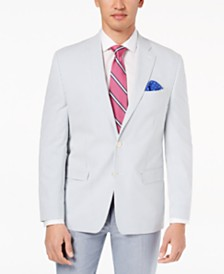 Lauren Ralph Lauren Men's Classic-Fit Ultraflex Seersucker Sport Coat