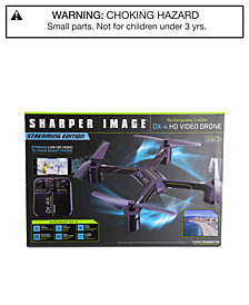 Sharper Image Rechargeable DX-3 Video Drone Streaming Edition