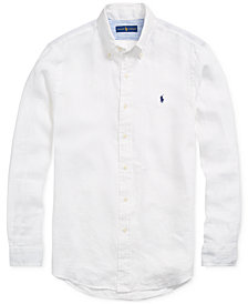Polo Ralph Lauren Men's Classic-Fit Linen Shirt