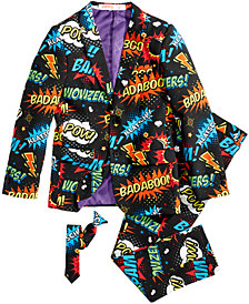 OppoSuits Little Boys 3-Pc. Badaboom Suit & Tie Set