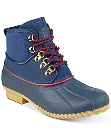 Tommy Hilfiger Rinah Rain Boots, Created for Macy's