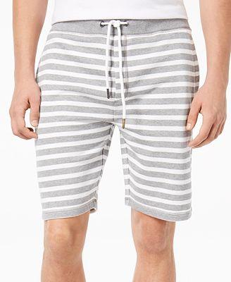 American Rag Men's Striped Drawstring Shorts, Created for Macy's