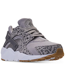 Nike Big Girls' Air Huarache Run SE Running Sneakers from Finish Line