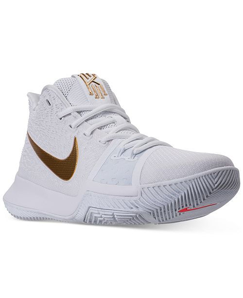 2414134f0ca Nike Men s Kyrie 3 Basketball Sneakers from Finish Line   Reviews ...