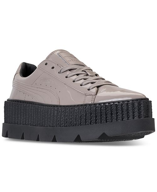 5bf048035184 ... Puma Women s Fenty x Rihanna Pointy Creeper Patent Casual Sneakers from  Finish ...