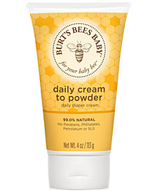 Burt's Bees Baby Bee® Cream To Powder, 4 oz