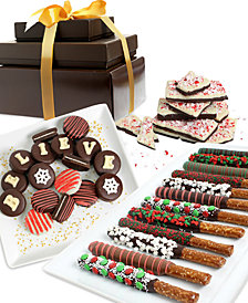 Chocolate Covered Company  Believe Spectacular Belgian Chocolate-Covered Gift Tower