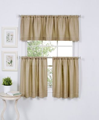 Elrene Cameron Kitchen Curtains - Window Treatments - For The Home