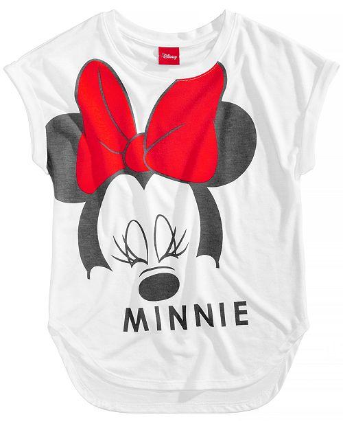 977a7f4137 Disney Minnie Mouse T-Shirt, Big Girls & Reviews - Shirts & Tees ...