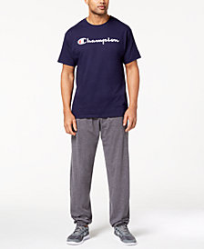 Champion Logo T-Shirt & Banded Pants