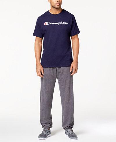 Champion Logo T-Shirt & Banded Pants
