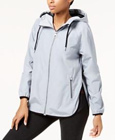 Calvin Klein Performance Hooded Cross-Back Jacket