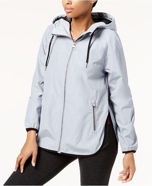 Calvin Klein Hooded Cross-Back Jacket