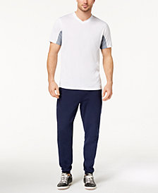 ID Ideology Men's Performance V-Neck T-Shirt & Fleece Jogger Pants