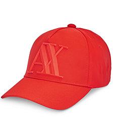 Armani Exchange Men's Rubberized Hat