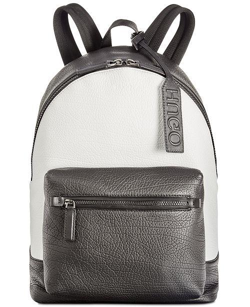 241403648d8 Hugo Boss Men s Victorian Leather Backpack - All Accessories - Men ...