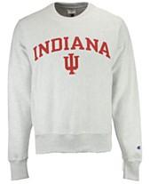 fa04d42e4f09 Champion Men s Indiana Hoosiers Reverse Weave Crew Sweatshirt