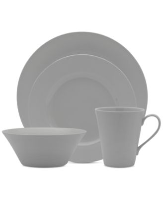 Delray Grey 4-Pc. Place Setting