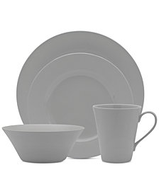 Mikasa Delray Grey Dinnerware Collection