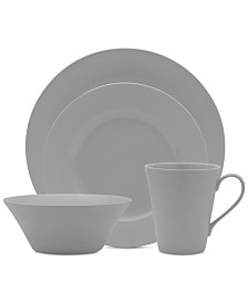 Mikasa Delray Grey 4-Pc. Place Setting
