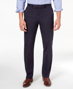 Calvin Klein  MEN'S CLASSIC-FIT STRETCH TWILL PANTS