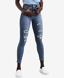 Levi's® Mile High Ripped Skinny Ankle Jeans