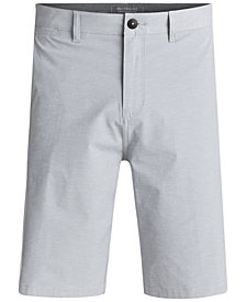 "Quiksilver Men's Union Amphibian Heathered Water-Repellent 21"" Shorts"