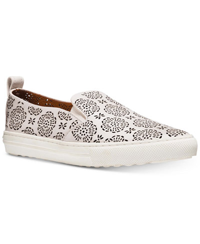 COACH Perforated Slip-On Sneakers