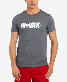 Lacoste Men's Novak Djokovic Ultra Dry Graphic-Print T-Shirt
