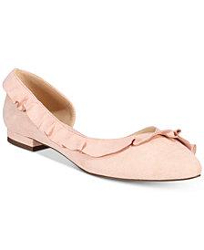 Callisto Lyra d'Orsay Ballet Flats