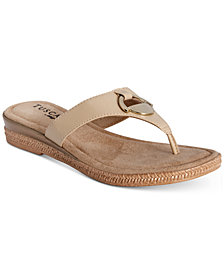 Tuscany by Easy Street Belinda Thong Sandals