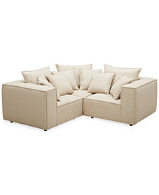 Rainshire 3-Pc. Performance Fabric Modular Sectional, Created For Macy's