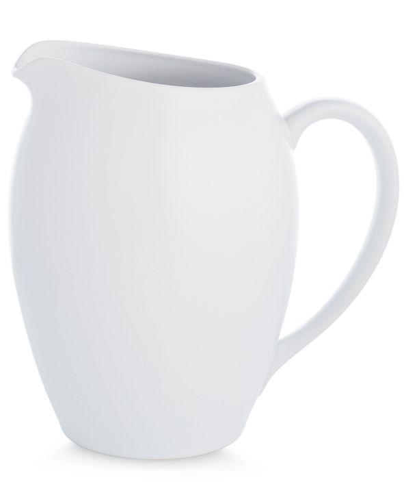 Noritake Dinnerware, Colorwave White Pitcher