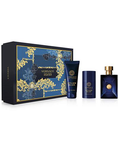 Versace Men's 3-Pc. Dylan Blue Gift Set