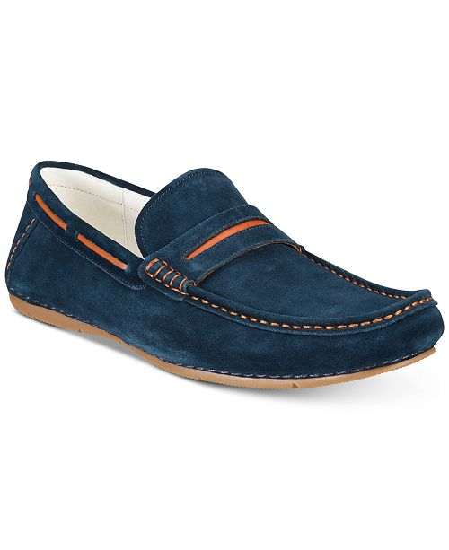 Cheap Low Price Newest Kenneth Cole Reaction Smyth Leather Driver Wide Range Of Online Pre Order Cheap Price R3D3GXclv