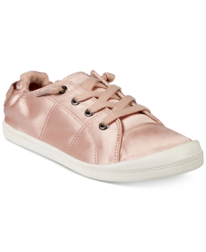 Material Girl Brooke Lace-Up Sneakers, Created for Macy's Women's Shoes