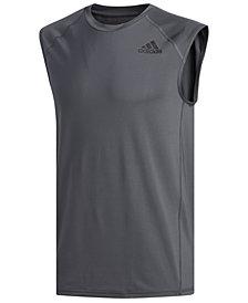 adidas Men's Alphaskin Sleeveless T-Shirt