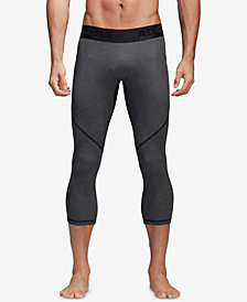 adidas Men's Alphaskin ClimaCool® Cropped Compression Leggings