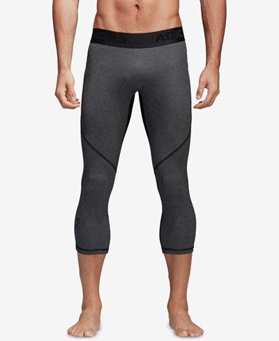 adidas Men's Alphaskin ClimaCool® Cropped Compression Leggings