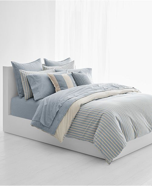Duvet Covers.Graydon Bold Stripe Duvet Covers
